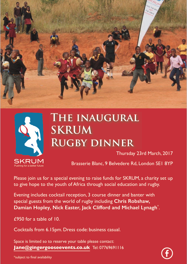 Rugby Dinner