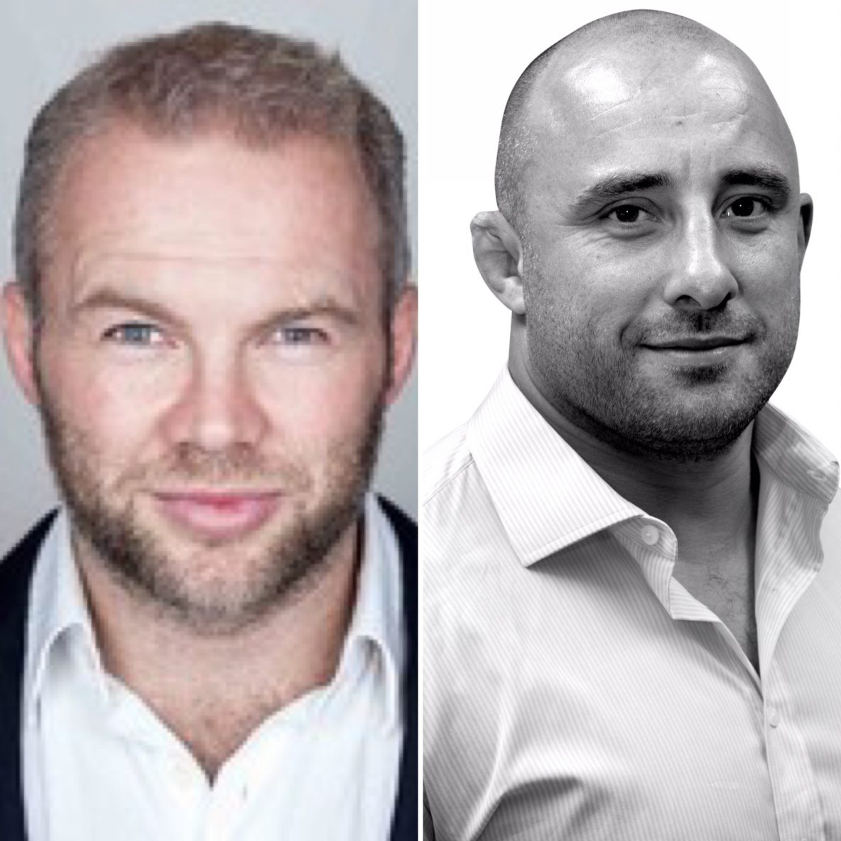 Image of Ollie Phillips and David Flatman