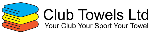 Logo for club towels with primary coloured towels