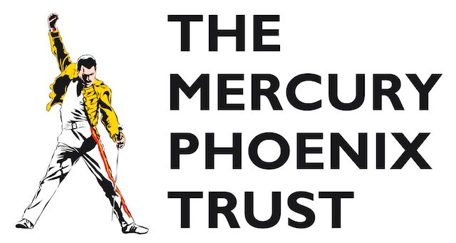 Logo with image of Freddie Mercury